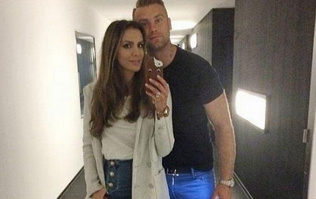 Sara Mannei i Artur Boruc