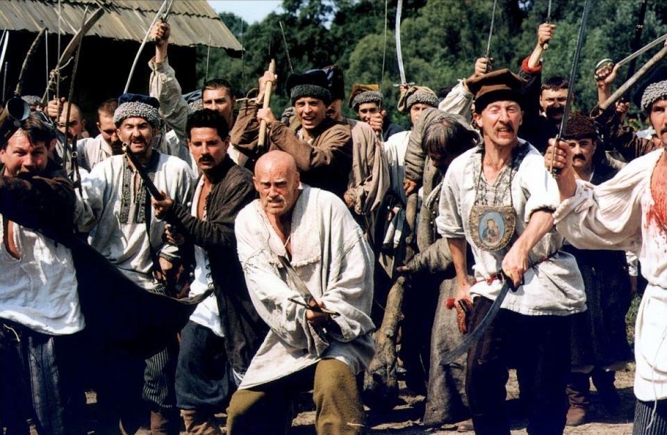 Kadr z filmu 'Pan Tadeusz' w reżyserii Andrzeja Wajdy