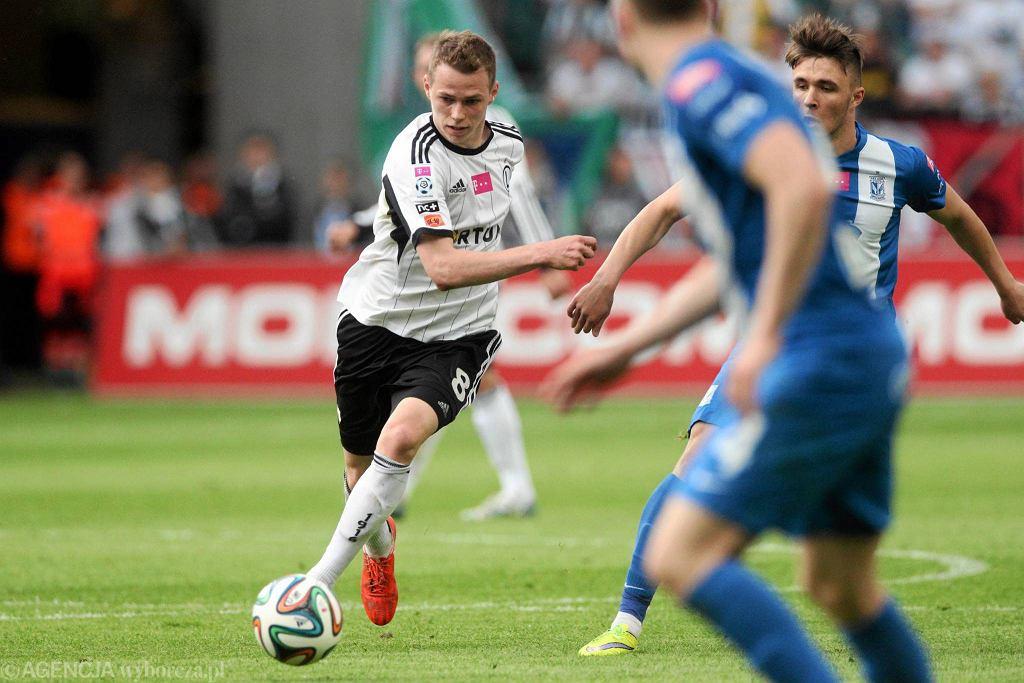 Legia Warszawa - Lech Poznań 1:2. Ondrej Duda i Dariusz Formella