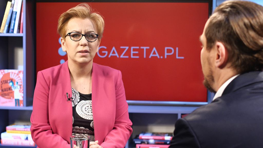 Paulina Hennig-Kloska w poranku Gazeta.pl