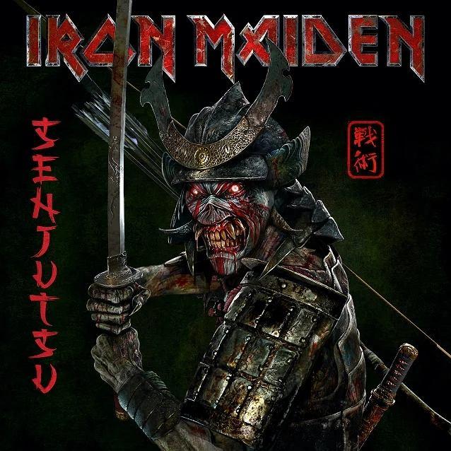 Okładka nowej płyty Iron 'Senjutsu'