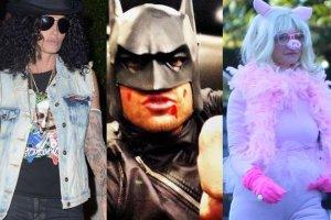 Gwiazdy w kostiumach na Halloween