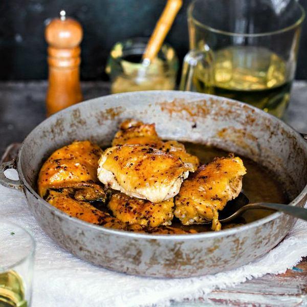 Kurczak w sosie musztardowo-cytrynowym
