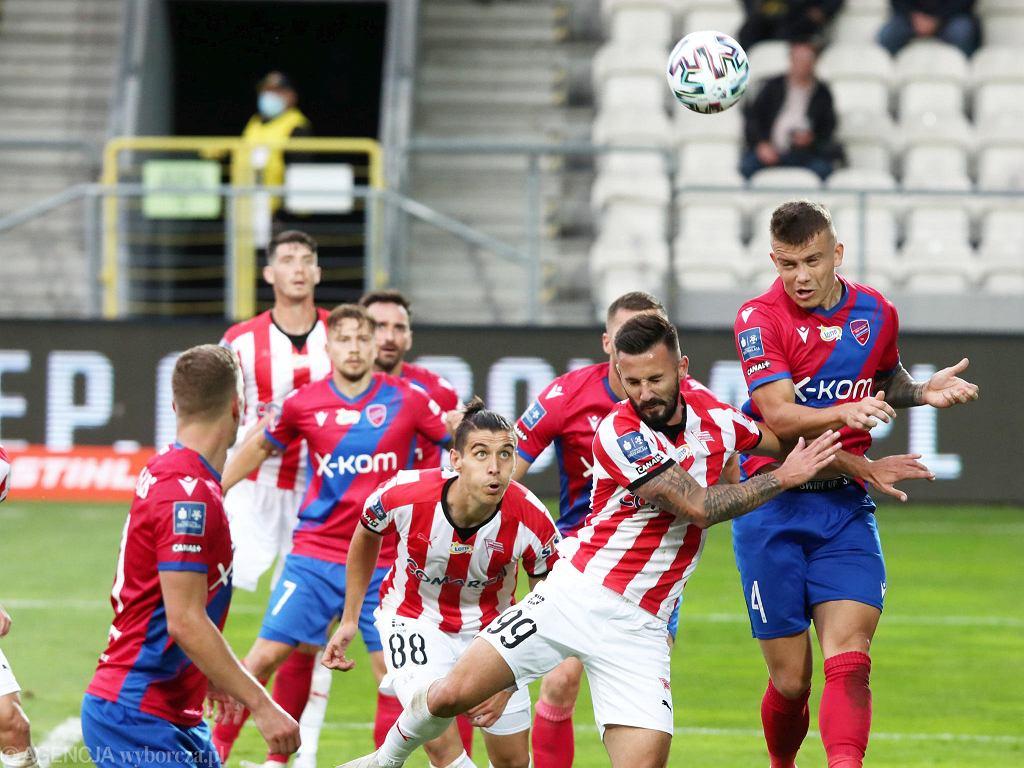 Mecz ekstraklasy Cracovia - Raków Częstochowa, 26 września 2020 r.