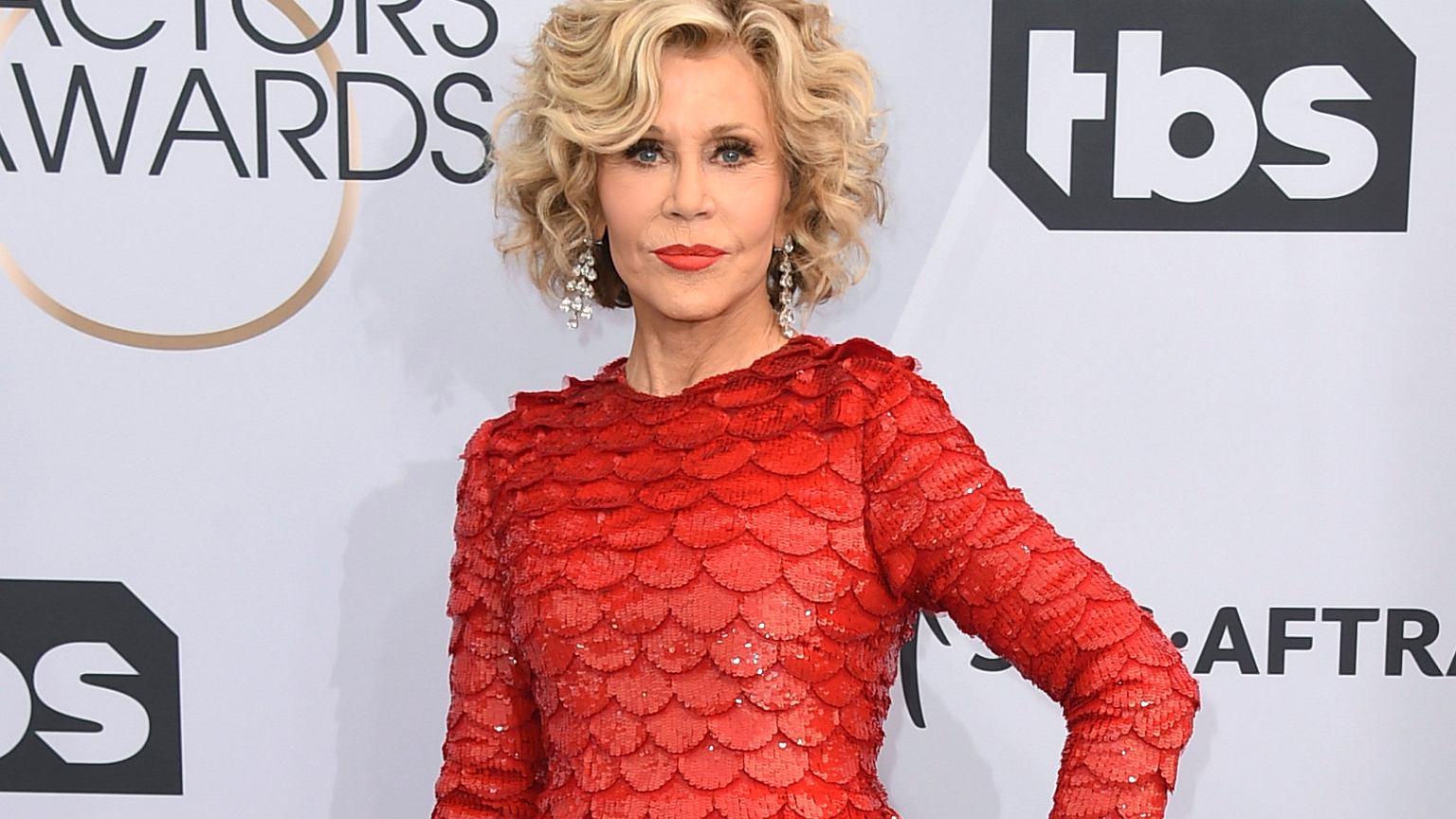 Jane Fonda aresztowana podczas protestu klimatycznego w Waszyngtonie