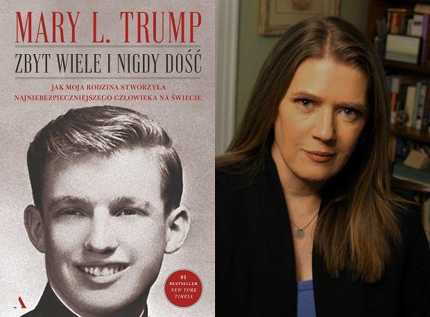 Autorka książki 'Zbyt wiele i nigdy dość' Mary L. Trump (fot. Materiały prasowe)
