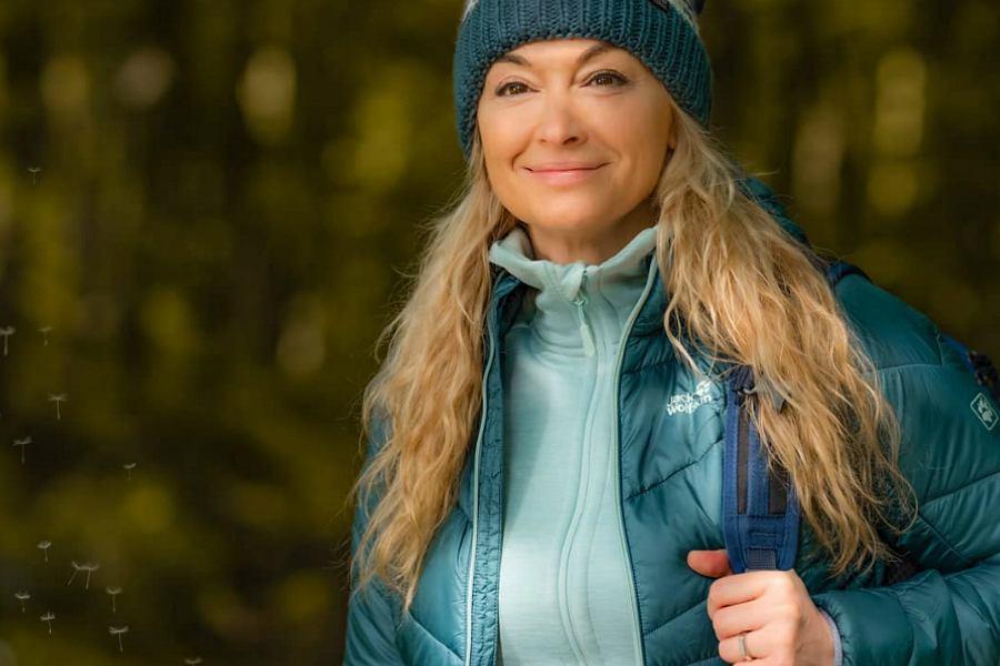 Martyna Wojciechowska w Wolfskin