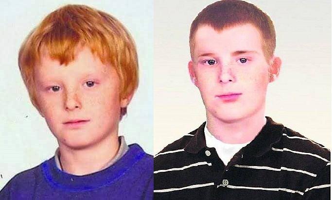 Zaginiony Mateusz Żukowski (11 lat temu i rekonstrukcja wizerunku)