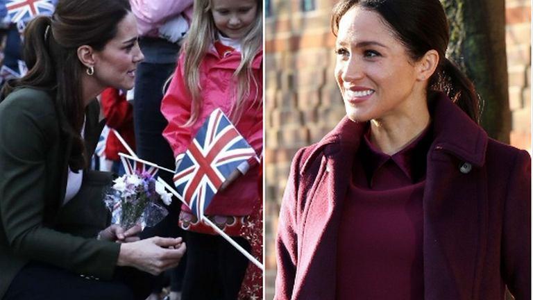 Księżna Kate, Księżna Meghan