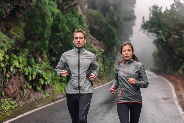 Jogging jesienną porą