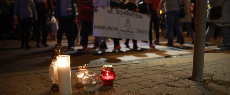 Mieszkańcy ul. Sokratesa protestują przeciwko