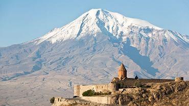 Monaster Chor Wirap niedaleko góry Ararat w Armenii