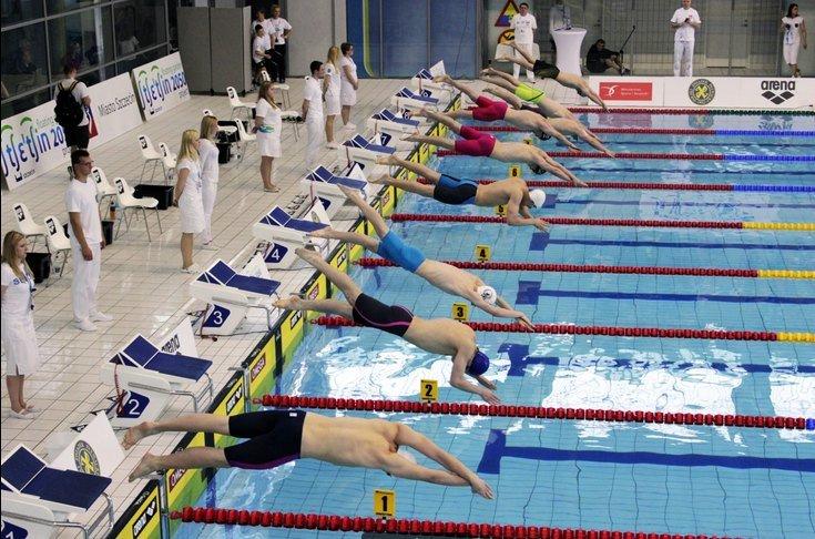 MP w pływaniu w Szczecinie