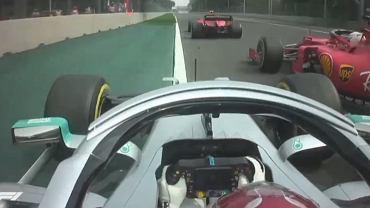 Lewis Hamilton w GP Meksyku