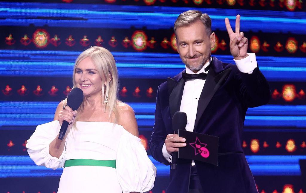Monika Olejnik i Piotr Kraśko