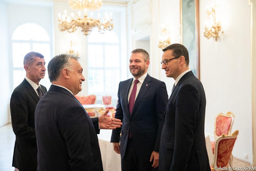 2019.11.05 Praga | Premier Mateusz Morawiecki wziął udział w Szczycie Przyjaciół Spójności w Pradze.