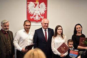 Bohaterski Ukrainiec dostał polskie obywatelstwo. Spełniło się marzenie rodziny