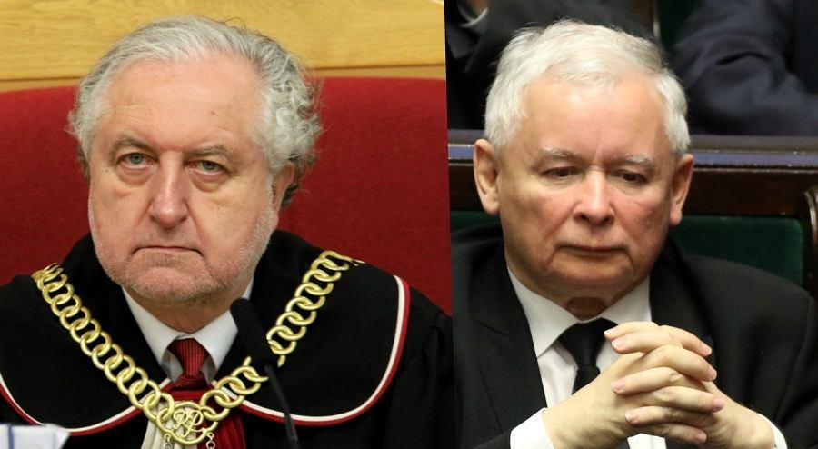 Andrzej Rzepliński, Jarosław Kaczyński