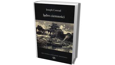 Okładka jednego z polskich wydań 'Jądra ciemności'