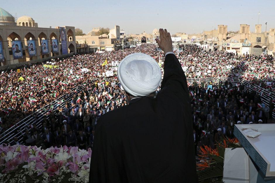 Prezydent Hasan Rouhani ogłosił odkrycie wielkiego złoża ropy naftowej