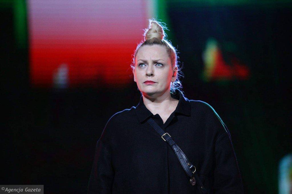 Katarzyna Nosowska na scenie amfiteatru wystąpi solo i w duecie ze Skubasem