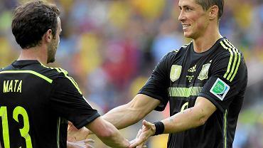Juan Mata i Fernando Torres