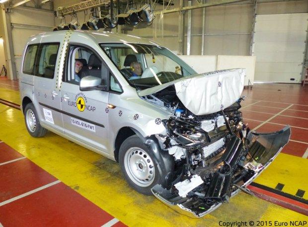 Euro NCAP - Volkswagen Caddy