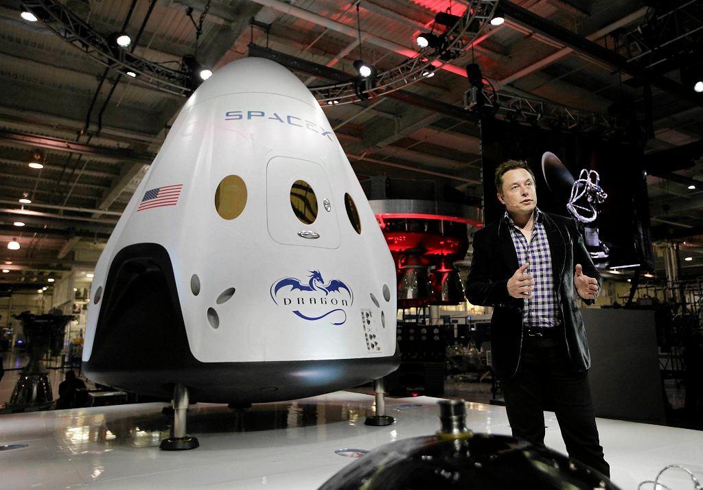 Elon Musk, założyciel i główny właściciel spółki SpaceX