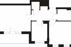 51,5 m kw., dla 4 osób: nowe miejsce na kuchnię