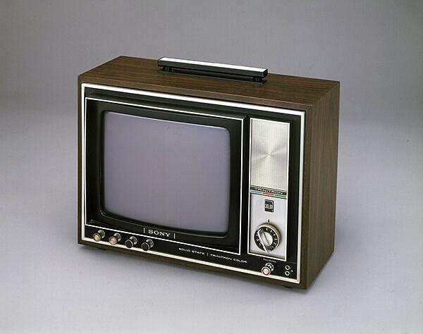 Telewizor Sony z 1968 roku