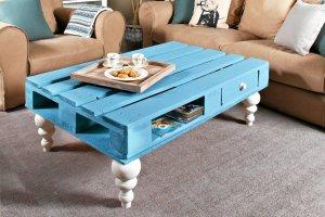 Zrób to sam: stylowy stolik z palety