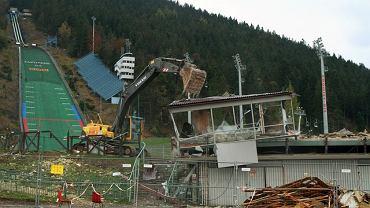 Wielka Krokiew - prace budowlane w 2011 roku
