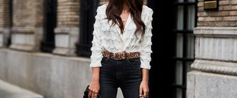 Wyprzedaż w Mohito: piękne bluzki i koszule z dużym rabatem! Biała z koronką w stylu boho idealna do pracy lub na święta