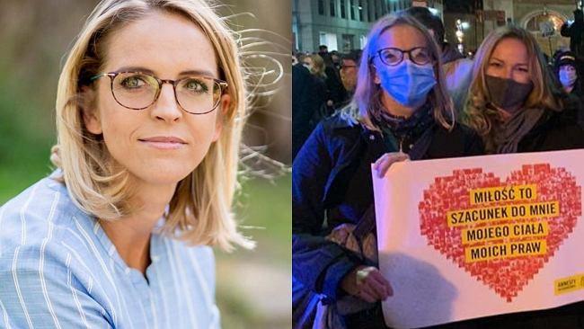 """Małgorzata Trzaskowska zatrzymana na Strajku Kobiet. """"Widziałam w oczach policjantów wstyd"""". Internauci: Powinna być pani Pierwszą Damą"""
