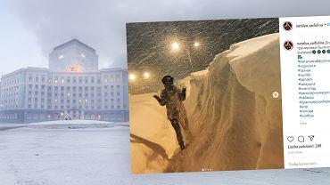 Norylsk został zasypany śniegiem