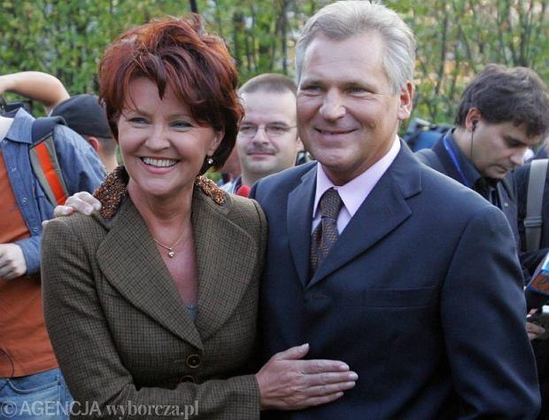Jolanta i Aleksander Kwaśniewski, 2005 rok