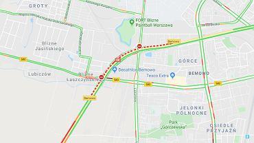 Kolizja na trasie S8. Dwa pasy w kierunku Poznania zostały zablokowane (zdjęcie ilustracyjne)