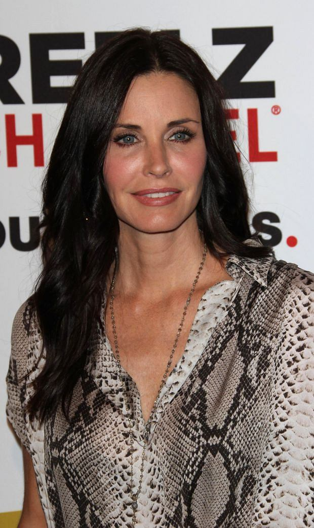 Courtney Cox at the Critics Choice Luncheon held at the Beverly Hills Hotel, Los Angeles.