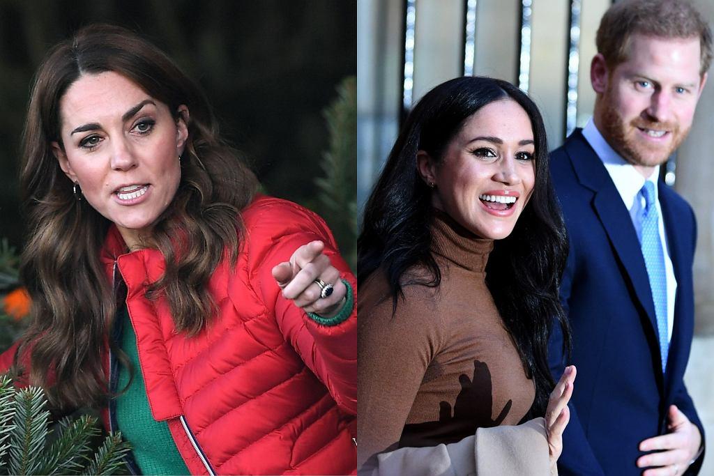 Kate Middleton, Meghan Markle, książę Harry