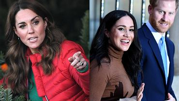 Kate Middleton, Meghan Markle, książę Harry