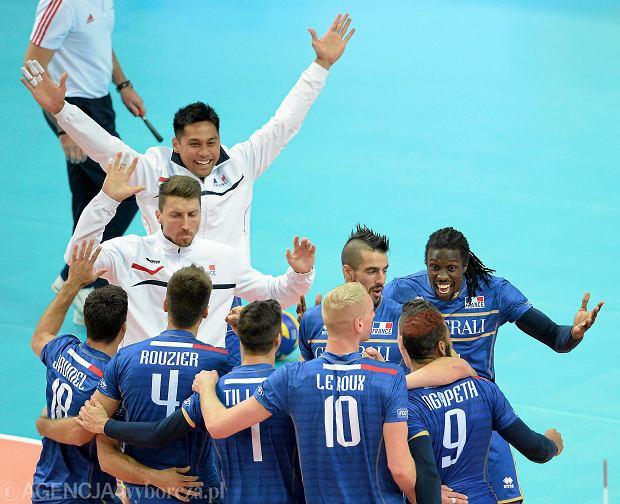 JMecz Francja - Niemcy . Mistrzostwa Swiata w Pilce Siatkowej Mezczyzn 2014