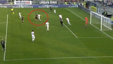 Zlatan Ibrahimović strzelił debiutancką bramkę w Milanie