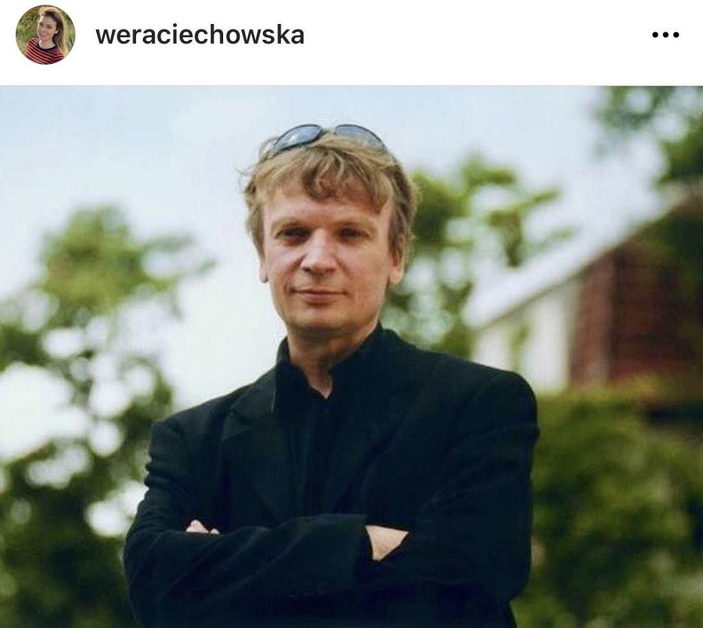 Weronika Ciechowska w 19. rocznicę śmierci ojca