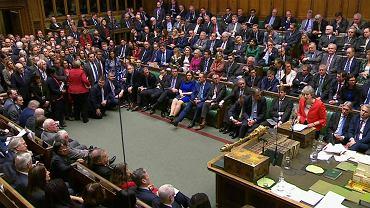 Brexit. Premier Theresa May przemawia po przegranym głosowaniu