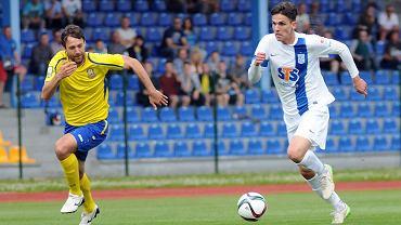 Lech Poznań - Atlantas Kłajpeda 2:0 w sparingu w Gniewinie. David Holman