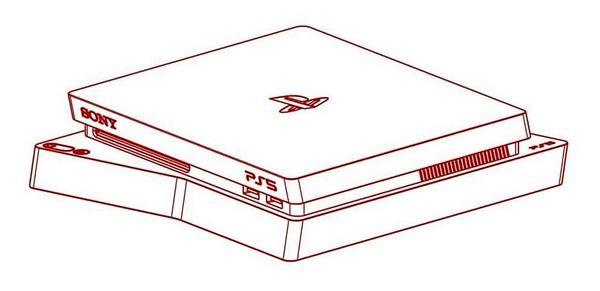 PlayStation 5, nieoficjalna wizualizacja