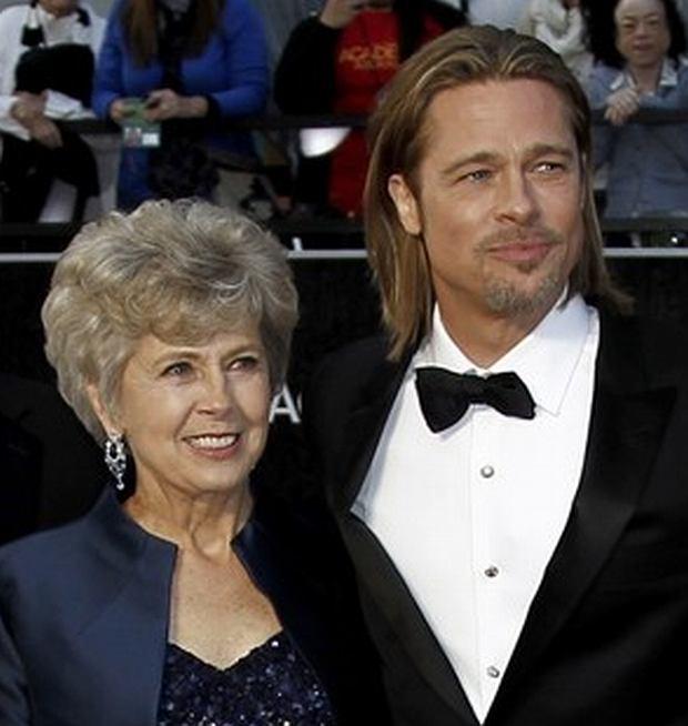 Jane Pitt, Brad Pitt, mama