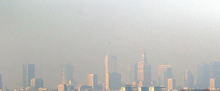 Dramatycznie zła jakość powietrza w Warszawie i nie tylko