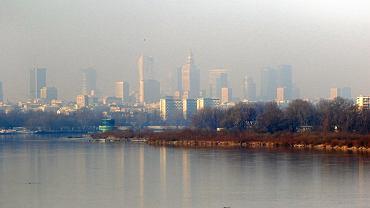 Smog nad Warszawa