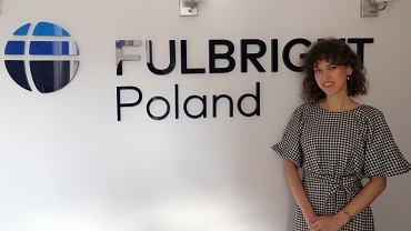 Mgr Marta Dąbrowska z Wydziału Prawa UwB znalazła się w gronie laureatów Fulbright Junior Research Award 2020-21